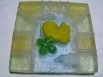 高原家へのお土産その1:手製のガラスタイル01